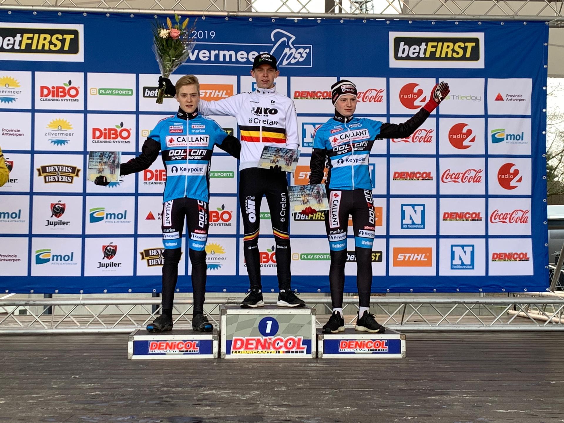 IKO-Crelan jeugd domineert Zilvermeercross, Emma wint in Flemalle