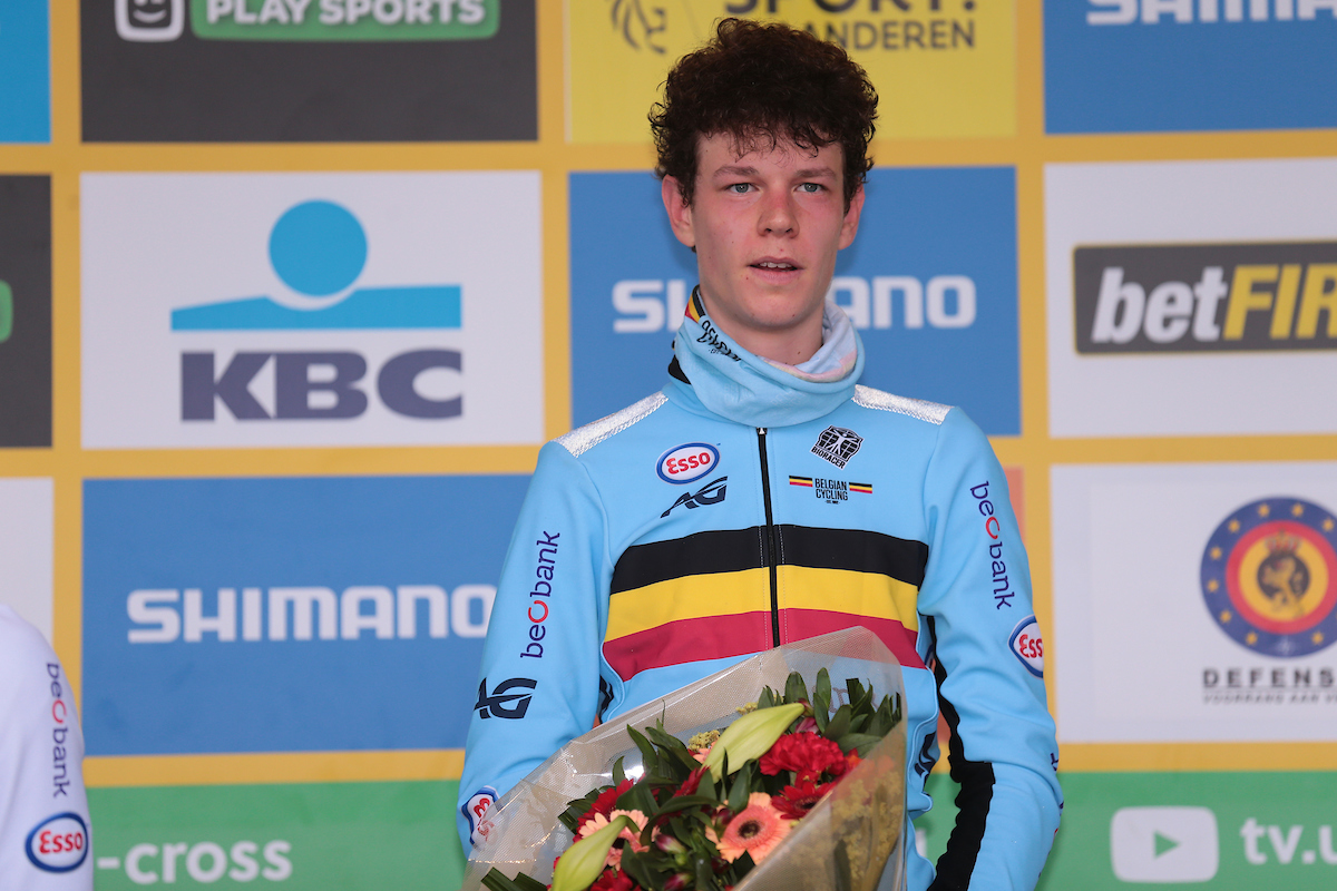 Belmans derde in wereldbeker van Koksijde, Cant finisht 7de