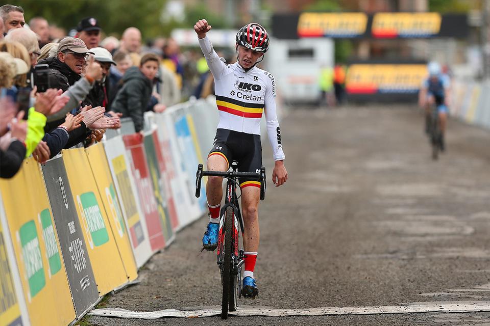 Dockx wint in Gavere, Belmans tweede, Cant valt in opwarming en wordt 14de