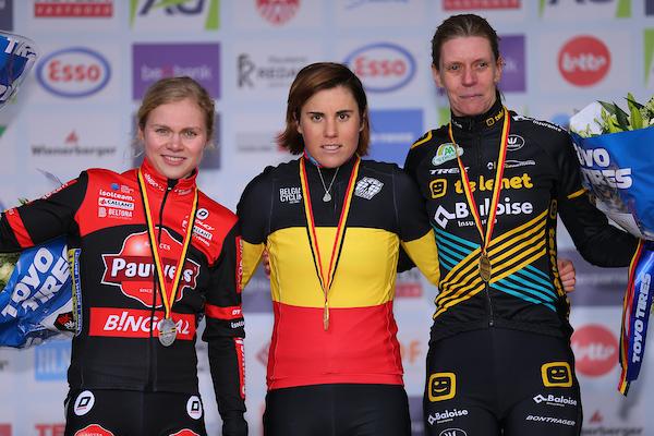 Twee titels en drie medailles voor IKO-Crelan en Crelan-IKO na eerste dag BK Antwerpen