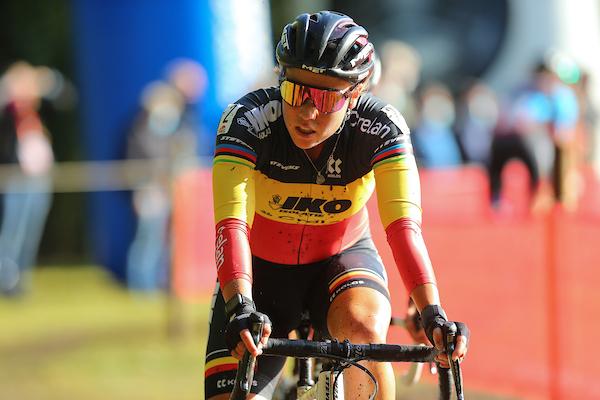 Sanne Cant opent seizoen met zesde plaats in Lokeren